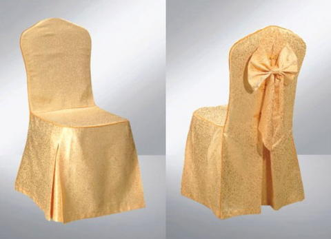 Gold Banquet Chair Cover