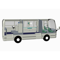 ORICH medical check mobile hospital/vehicle/bus/van/trailer CE
