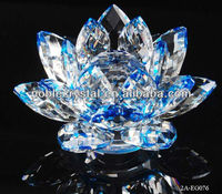 Flower Lotus Crystal Decorations Ornaments Gifts