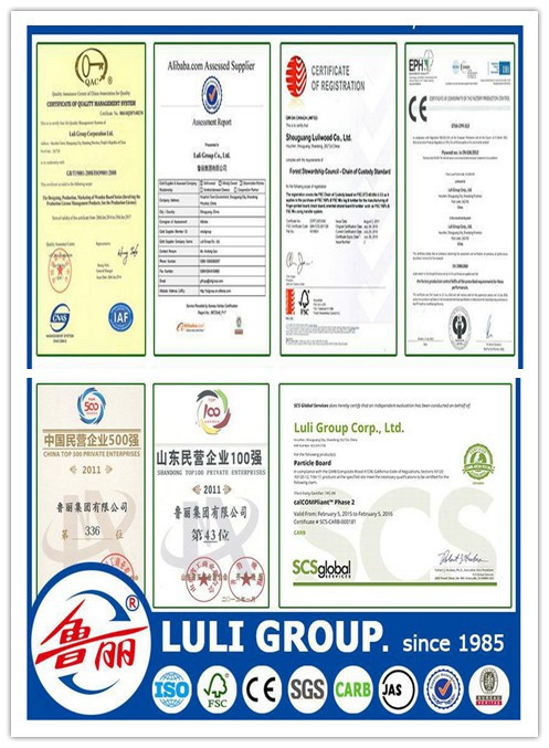 melamine plywood from LULI GROUP. Since 1985