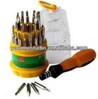 2014 newest 31 Screwdriver Repair Tool set 31 Kit Universal screwdriver for PC/Mobile Phone/Electronics