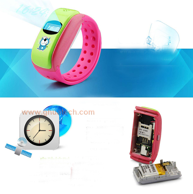 gh child gps tracker bracelet g w305 with sos and call