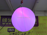 Hot selling inflatable balloon LED light floating in the sky /inflatable balloon