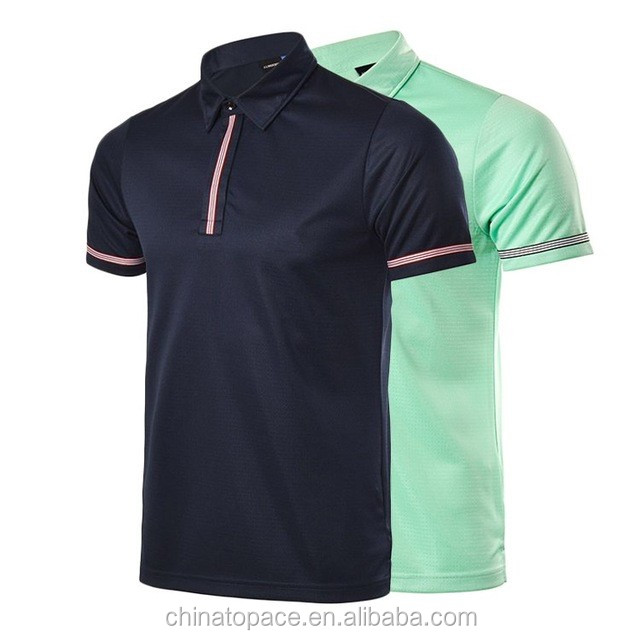 2017 New Arrival High Quality Branded Wolf Sport Wear Short Sleeve Fashionable Golf T-shirt Mens Uniform golf shirts