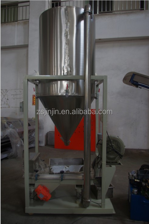 China plastic recycling storage hopper/ plastic auxiliary equipemtn for recycling machines