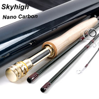 IM12/40+46T Nano Toray carbon leichichina skyhigh fly rod