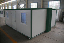portable removed low modular brand new flat pack folding container house for sale