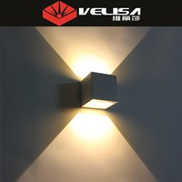 6w 110-240v led outside up and down wall lighting
