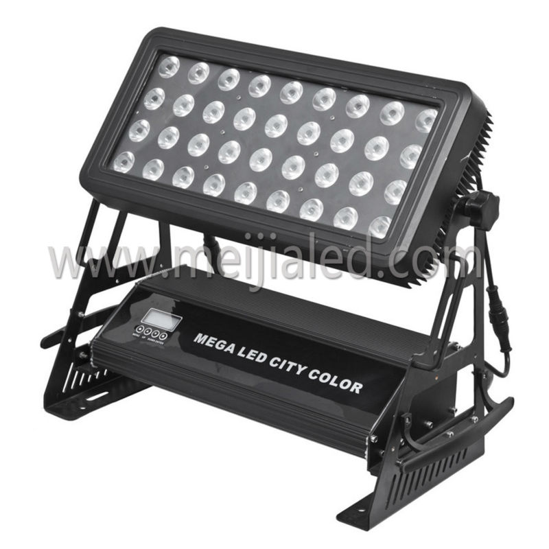 pro linear outdoor ip 65 waterproof rgbw 4in1 dmx high power led outdoor wall washer light