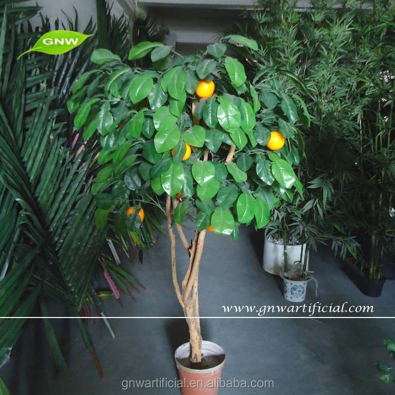 Decorative Fruit Bonsai Tree Artificial Orange Tree Good Price All Kinds of Artificial Trees