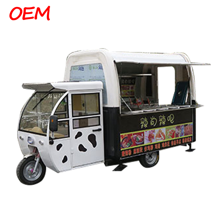 New Design Large Ice Cream Food Trucks Hot Dog Mobile Food Trailer