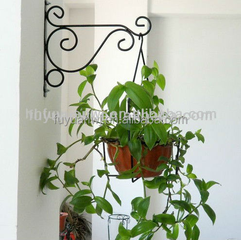 Metal Wall Hanging Basket Hooks