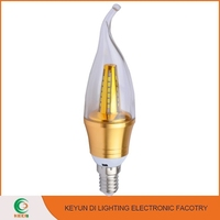 New Design LED SMD Bulb , E27/B22 Non-dimmable LED Candle Lamp Lighting