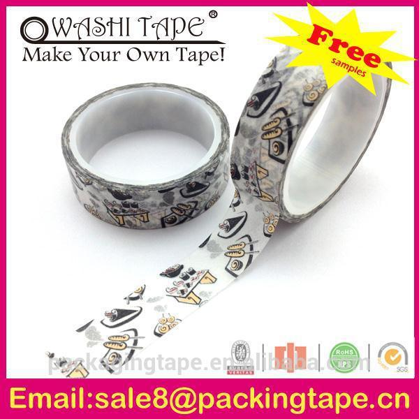 China wholesale DIY lotus red rice tape