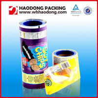 Ldpe Plastic Snack Packaging Roll Films