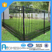 Factory Price Horizontal Aluminum Fence/Square Fence and Gate