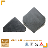Hot sell natural slate fadeless Roof tiles gray slate stone roofing tiles