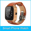 2015 Hot Selling GPS WIFI Bluetooth Android4.4 GSM 3G dual core watch phone