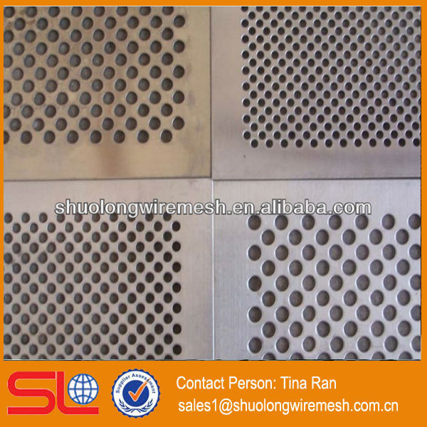 Decorative aluminum hole punching sheet/punched steel sheet