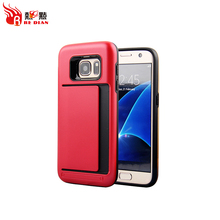 Popular style with card slot wholesale price phone case for samsung galaxy s7 s7 edge