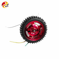 High-quality Red ONE Set of Car Parts included 25mm motor+ 85mm wheel