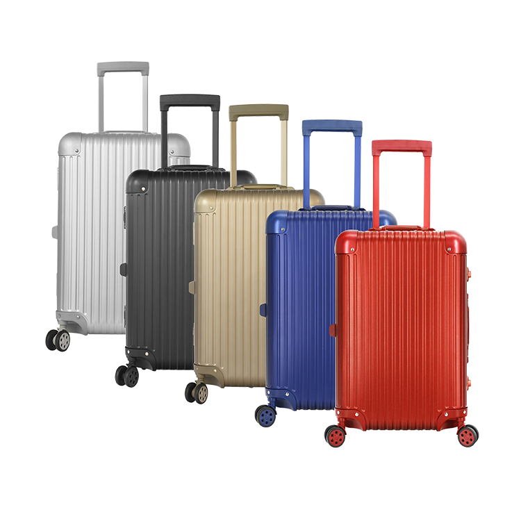 Newest Aluminum Make Up Trolley Case