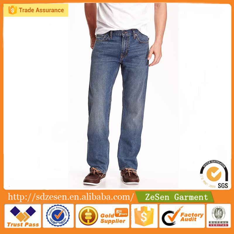 Wholesale Cotton Fabric Brand China Jeans Item For Men