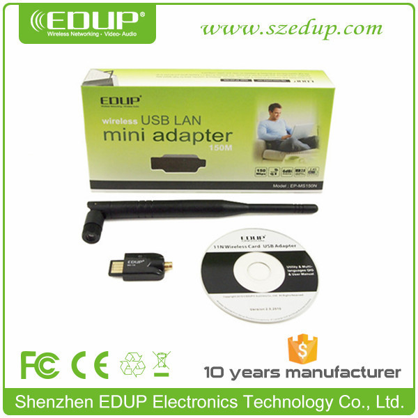 300Mbps Mini Wireless USB Wifi Adapter LAN Internet Network Adapter 802.11n/g/b EP-MS150N