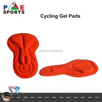 Customize Cycling Gel Pad Professional High Density MTB Cushion Coolmax 3d Cycling Pad