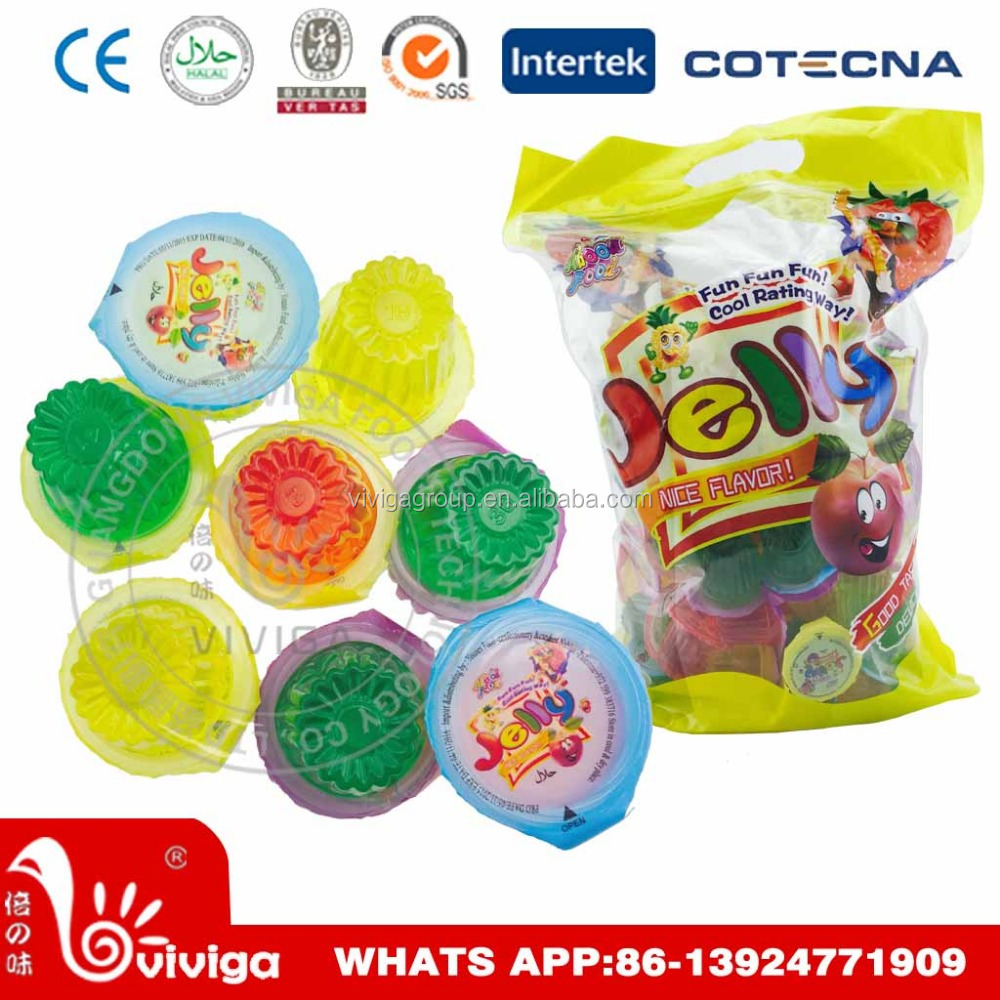 16g Mini Fruit Flavor Jelly Cup