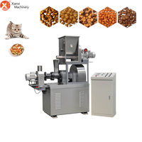 Stainless steel pet dog food puffed extruder with competitive price