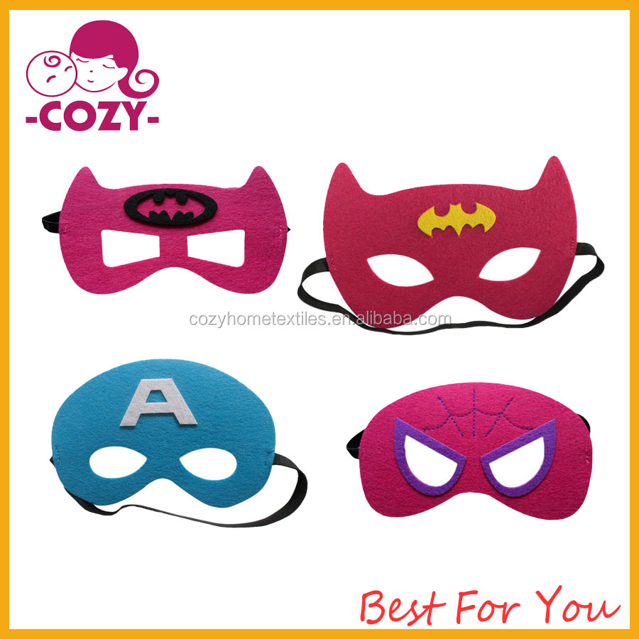 Cute Kids Superhero Masks Craft Kits 2017 Holiday Halloween Party Favor Supply Pack Costume Mask