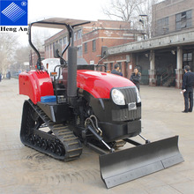 Light duty agricultural mini crawler tractor