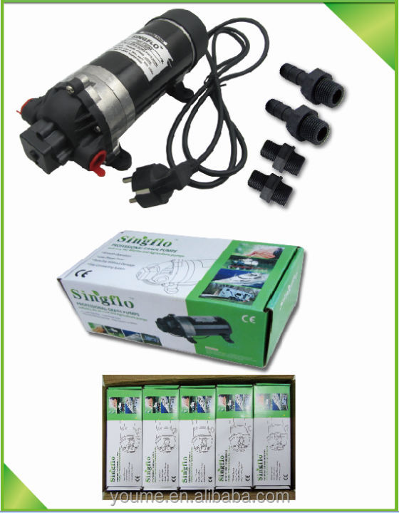 Intermittent Mist System : Psi v high pressure water pump for misting system