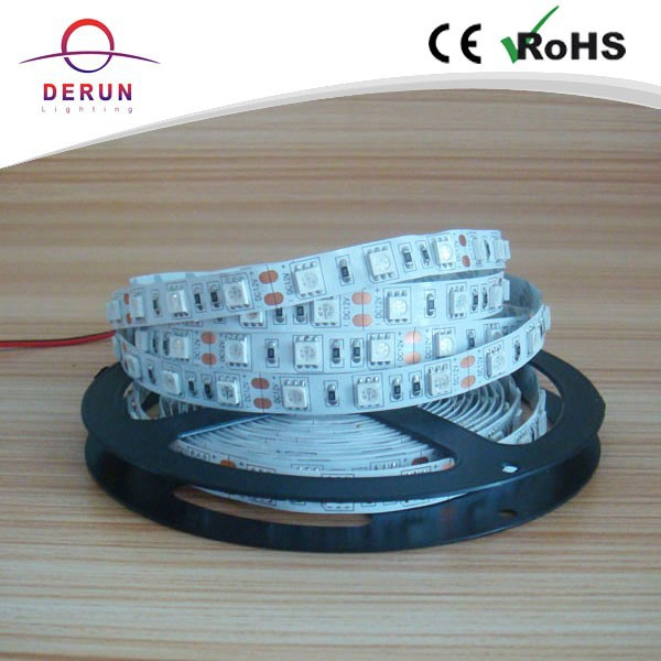Manufacture SMD flexible 5050 300leds <strong>rgb</strong> IP20 led strip with good quality