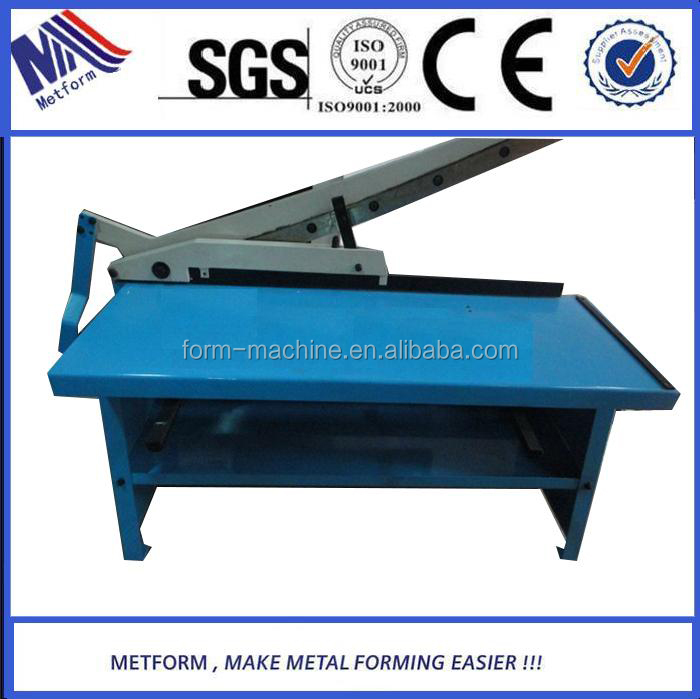 Top Quality and Design hand Guillotine shearing <strong>machine</strong> high precision manual sheet metal shearing <strong>machines</strong> made in china