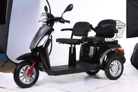 EEC 60V 20AH 1000W Adult Electric 3 Wheel Scooter