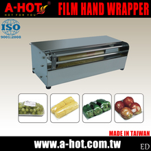 Convenient No Electricity Film Hand Wrapper With Cutter
