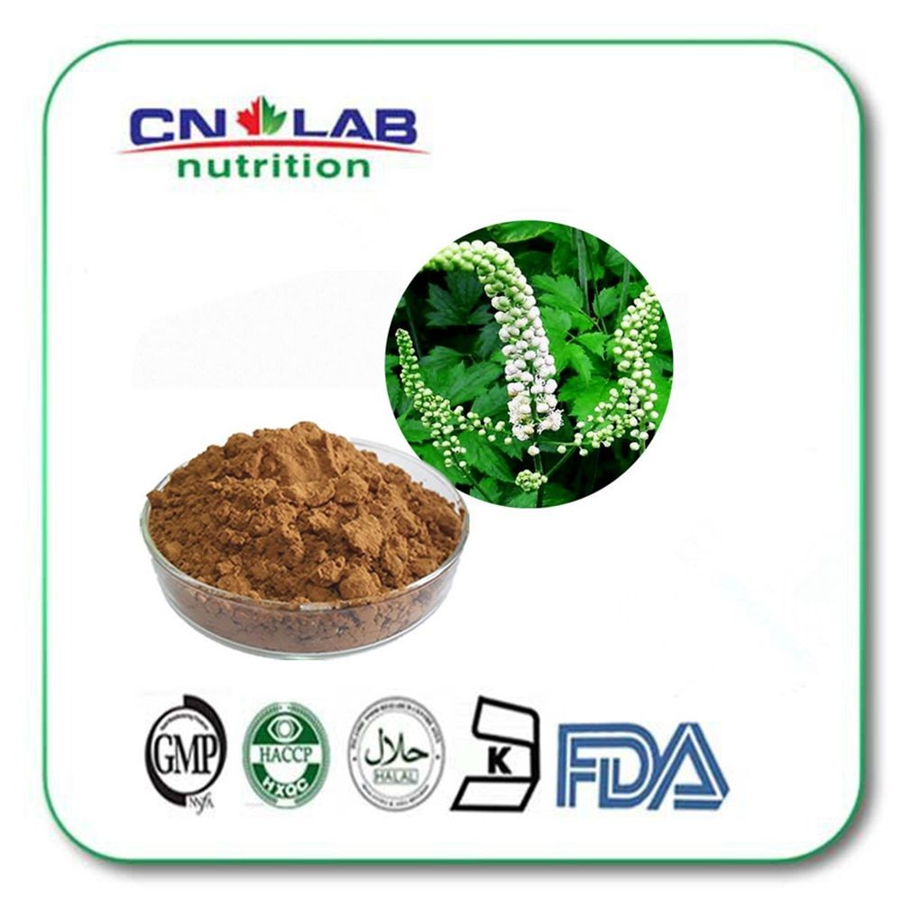 China hot-sell cimicifuga racemosa/black cohosh extract powder