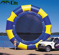 2016 top sale inflatable water trampoline toy for water park