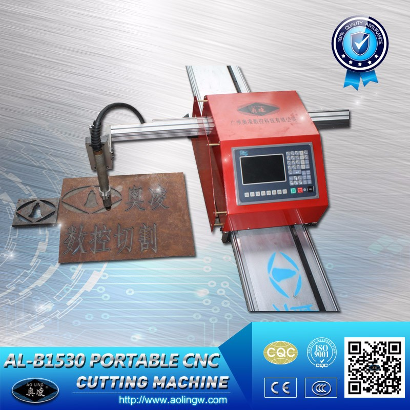 Mini CNC Profile Cutter with Plasma and Flame Torch