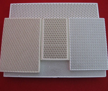 Cordierite Porous honeycomb Ceramic Plate For Cook