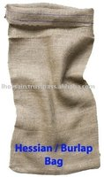 Biodegradable Eco-Friendly Custom Jute Burlap Hessian Bag