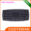 mini 2.4G wireless keyboard and mouse touchpad laser pen
