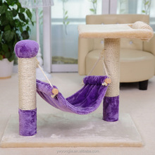 New Release Wooden Cat Climbing Frame Handmade Cat Scratching Tree
