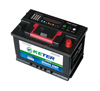 maintenance free calcium battery 12v l2-400 auto battery