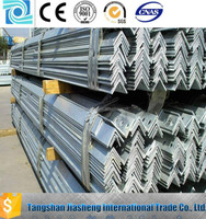Hot selling !!! galvanized angle iron prices / galvanized angle steel