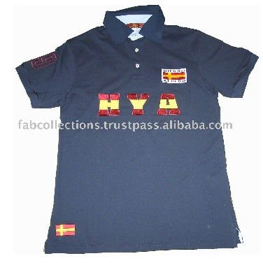 Men 100% Cotton Polo T-Shirt