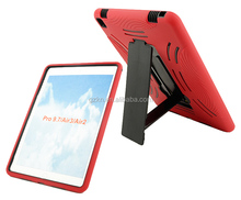 Robot stand case for iPad Pro 9.7inch rugged back skin
