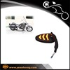 YH181001 aluminum cnc motorcycle mirror micro chrome dirtbike mirror plastic mirror led